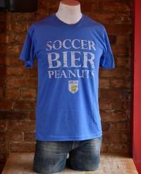 Wolff's Biergarten Soccer Bier Peanuts Tshirt